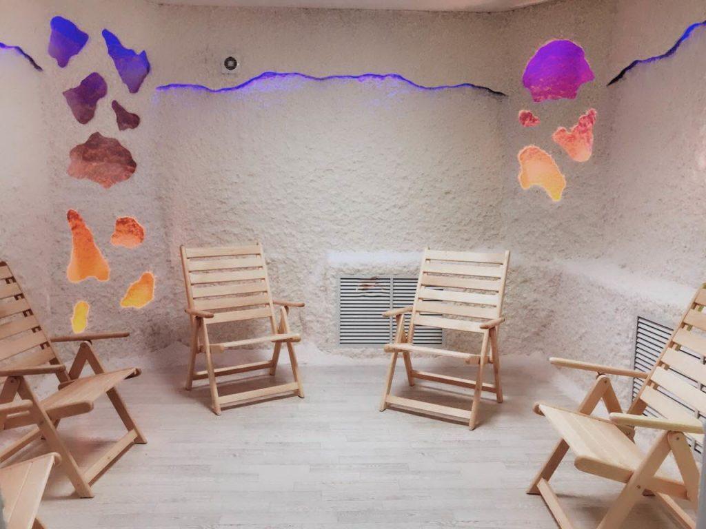Соляная пещера в санатории «Надежда»!