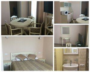 «Апартаменты» (двухкомнатные) Приморский
